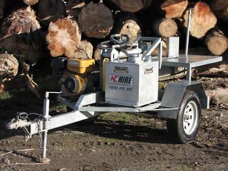COMING SOON ! Trailed Logsplitter
