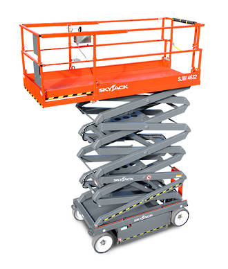 10m Slab Scissor Lift