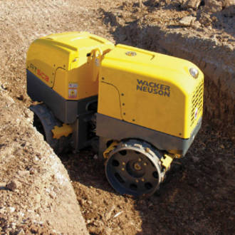 Remote Trench Roller