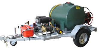 3000 psi Trailing Waterblaster
