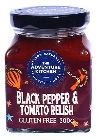 Black Pepper Tomato Relish