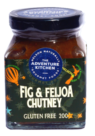 Fig & Feijoa Chutney
