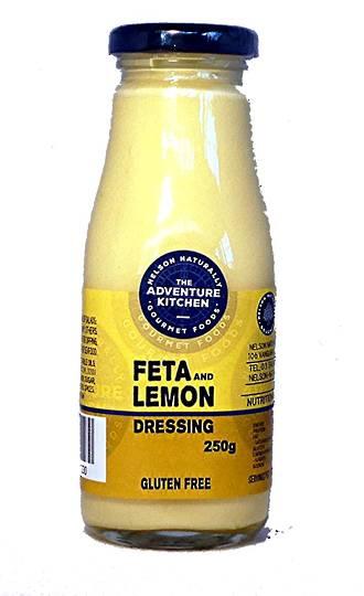 Feta & Lemon Cream Dressing