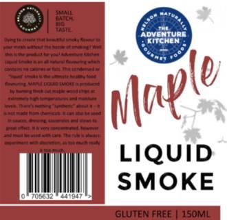 Maple Liquid Smoke 150ml