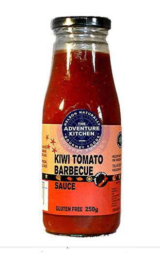 Kiwi Tomato Barbeque Sauce