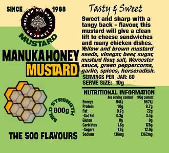 Manuka Honey Mustard