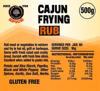 Cajun Frying Mixture (500g)