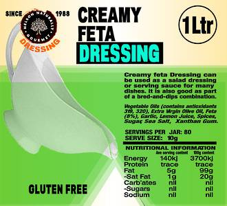 Creamy Feta Dressing