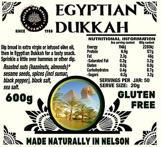 Egyptian Dukkah (600g)