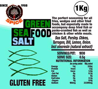 Green Sea Salt (1 kg)