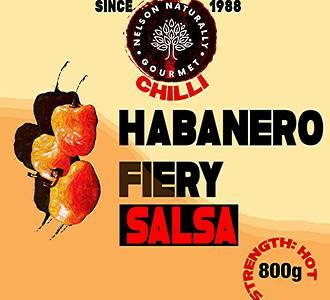 Habanero Fiery Salsa