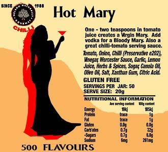 Hot Mary Sauce
