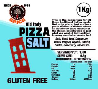 Old Italy Pizza Salt (1 kg)