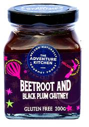 Black Plum & Beetroot Chutney