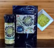Basil & Garlic Salt Grinder