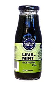 Lime & Mint Glaze Dressing
