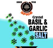 Basil and Roasted Garlic Crystal Salt (1 kg)