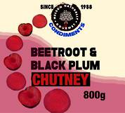Beetroot & Black Plum Chutney