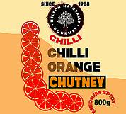 Chilli Orange Chutney