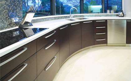 Glendowie Kitchen: Curved By Design