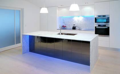 Herne Bay Kitchen : Modern in Marble