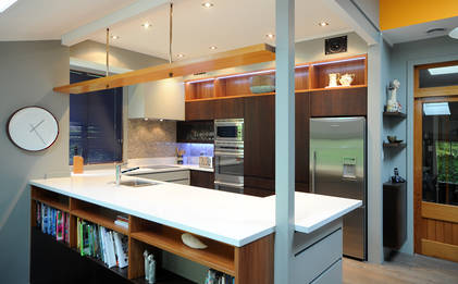 Modern kitchen has 70s legacy