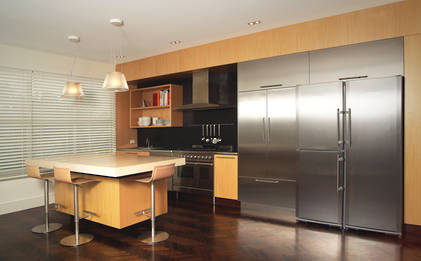 City Chic Stainless Kitchen