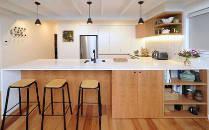 Kitchen renovation references bungalow era