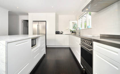 Westmere Bungalow Renovation Kitchen