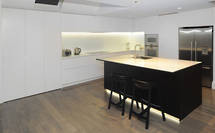 Herne Bay kitchen has a light touch