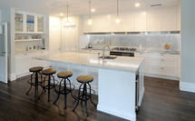 Shaker Style Kitchen a Perfect Match for Villa