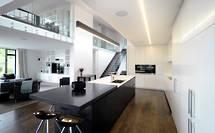 Designer Kitchen Hub of Open Plan Home