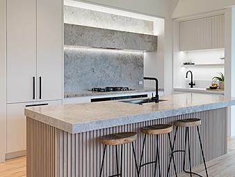 Neo design kitchen auckland renovation scandinavian marble modern contemporary THUMB2