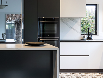 THUMB neo design designer custom kitchen Auckland Dekton Granite modern