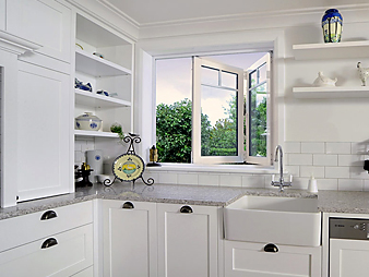 THUMB kitchen neo design traditional custom white auckland