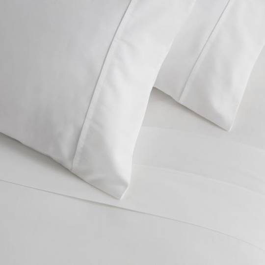 Baksana - 500TC Sateen Sheet Set - White