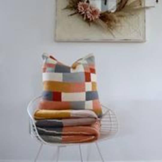 Voyage Maison - Folklore - Ivan Knitted Cushion