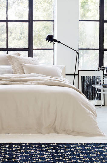 Sheridan - Abbotson Flax Tailored Linen Duvet Cover / Pillowcases