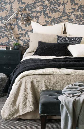 Bianca Lorenne - Amarento Duvet Cover / Pillowcase/Eurocase - Natural Linen