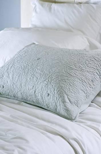 Bianca Lorenne - Amarento  Pillowcase and Eurocase - Duck Egg