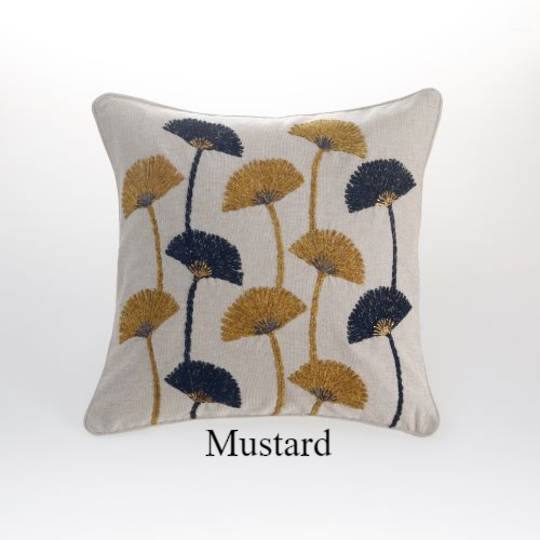 MM Linen - Ammi Cushion - Mustard