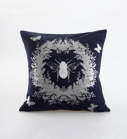 MM Linen - Bebe Cushion - Navy