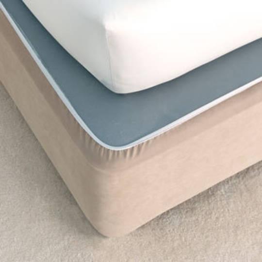 Suede Plain Bedwrap