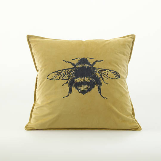 MM Linen - Beemine Cushion - Raffia