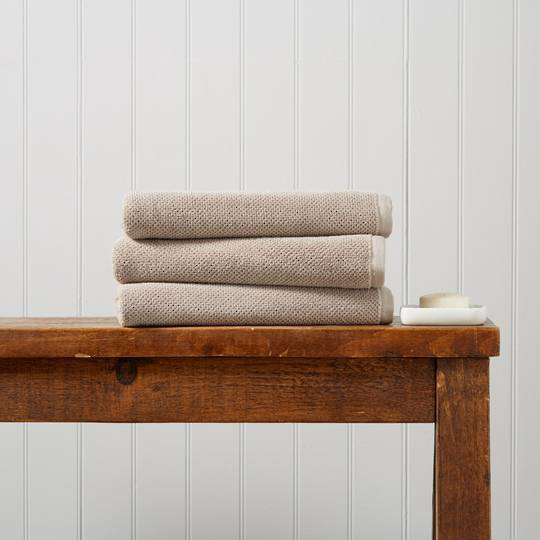 Seneca - Christy Brixton Towels, Hand Towels & Bath Mats - Pebble