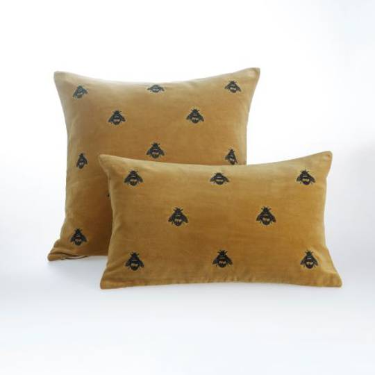 MM Linen - Buzz Cushions - Mustard