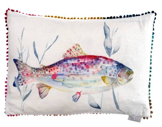 Voyage Maison - Riviera - Ives Water Cushion - Abalone