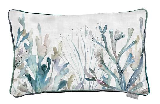 Voyage Maison - Riviera - Coral Reef Cushion - Slate