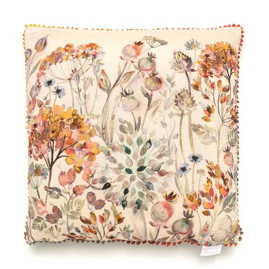 Voyage Maison - Country Blooms - Hedgerow Cushion - Dusk
