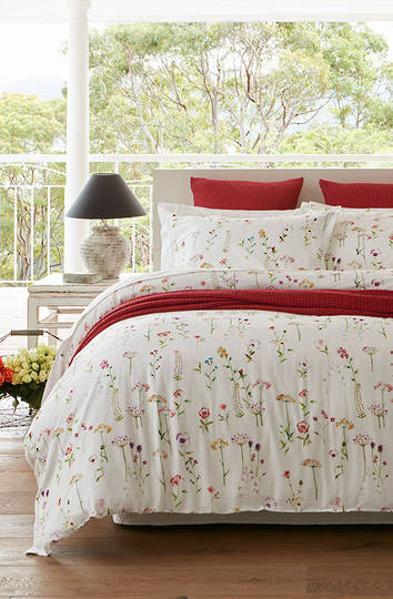 Baksana - Country Garden - Duvet Cover Set -  King